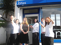 Jones Recruitment opens its first branch in Mutley, Plymouth in 2007